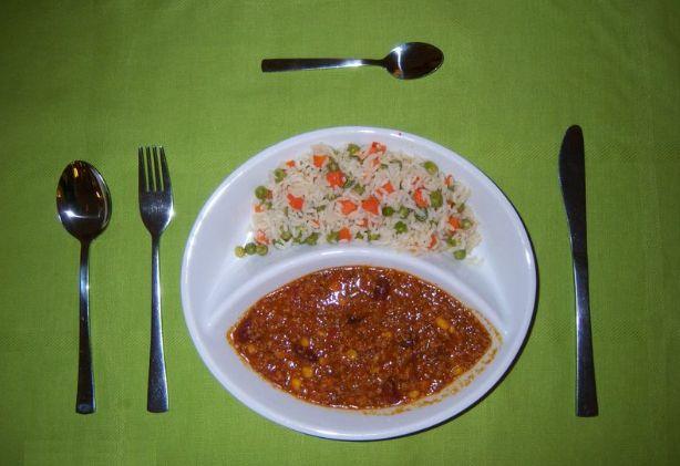 Viva Mexico! Chili con Carne mit Gemüsereis zur Mittagspause in Berlin